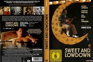 DVD SWEET AND LOWDOWN - SEAN PENN + UMA THURMAN - Regie: WOODY ALLEN *** NEU ***