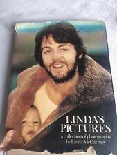 RAREST 1976 SIGNED LINDA'S PICTURES , LINDA McCARTNEY /PAUL /RINGO/ ETC
