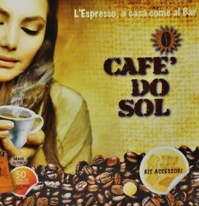 50 Capsules Compatible Nespresso Originalline Machines Cafe' Do Sol' (Strong)