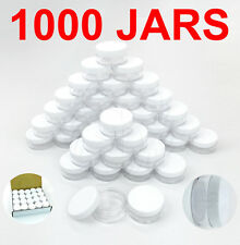 1000 Packs 10 Gram/10ML High Quality Makeup Cream Cosmetic Sample Jar Containers