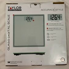Taylor Glass Digital Step On Instant Read Scale 400lb. max | Open Box