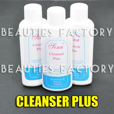 BF 3 x NEU Nail Art Spitze Acryl UV Gel Politur Reinigungs Plus entfernerre