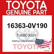 GENUINE OEM TOYOTA TURBO ASSY 16363-0V190