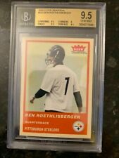 2004 Fleer Tradition RED #333 BEN ROETHLISBERGER ROOKIE........BGS 9.5 GEM MINT
