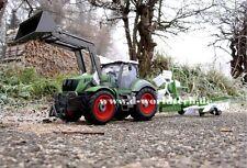 Géant XXL RC fermiers tracteur avec remorque kreiselschwader 5 CANAUX TELECOMMANDE