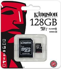 Kingston 128GB microSD 128G microSDXC 45MB/s U1 C10 micro SD SDXC SDC10G2/128GB