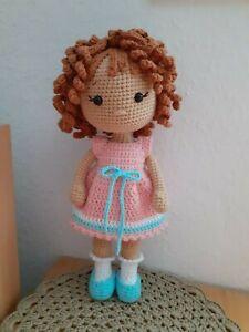 Amigurumi Puppe gehäkelt Handarbeit HandmadeSpielzeug Geschenk