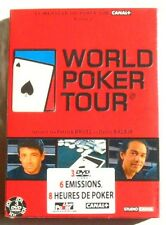 COFFRET 3 DVD WORLD POKER TOUR - BRUEL / BALBIR -  VOLUME 2 - NEUF