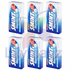 *NEW* SMINT Peppermint 2 Hour Clean Breath Sugar Free Tins - 6 Tins