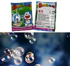 recharge sachet de liquide concentré type bulles savon machine jeu jouet 10ml