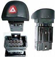 Toggle Switch Hazard Warning for Megane I 8 pins Oe 7700435867