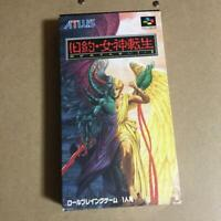 Super Famicom KYUYAKU MEGAMI TENSEI Nintendo Japan Used good condition #843