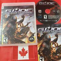 GI Joe Rise Of Cobra (PS3 sony playstation 3 )CIB RARE