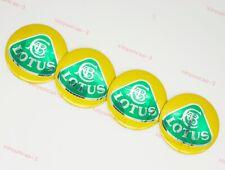 4x Auto Parts Car Hubcaps Hub Caps Wheel Center Covers Logo Emblem For Lotus