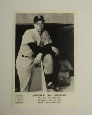 1963 Joe DiMaggio Yankees 5x7 Picture Pack Photo MINT - 1 day FLASH SALE