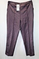Damart Brand Heather Easy Fit Elasticated Back Trouser Pants Size 18 BNWT #TN03