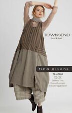 TOWNSEND Tunic & Pant  TGP-A7081 by Tina Givens- Lagenlook Style! 2 Great Pieces