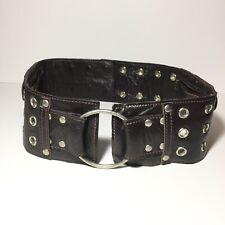 Leather Utility Belt HIPSTIRR Burning Man Festival Hip Pack Bag Zip Snap Pocket