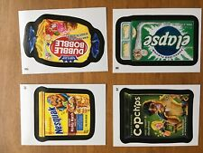 2015 Topps Wacky Packages Stickers Complete Set 110 Cards + Mod Rad Parallel Set