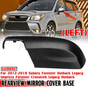 For Subaru Forester Liberty 2012-18 Left Rear-view Mirror Lower Cover Cap Trim