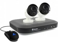 Swann DVR4 4980 4 Channel 5MP 1TB CCTV Kit with 2x PRO-5MPMSB PIR Cameras
