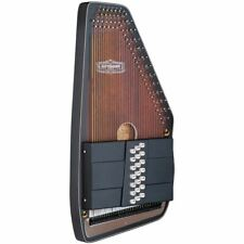 Oscar Schmidt 21 Chord Electric Autoharp Solid Spruce Back Os11021ae