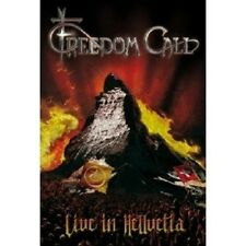 "Freedom Call ""Live in hellvetia"" 2 DVD NUOVO"