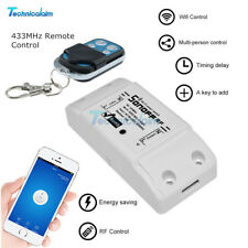 433Mhz Sonoff RF WiFi Wireless Home Smart Switch Module Socket Remote Control