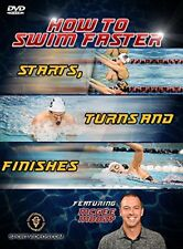 How to Swim Faster Starts, Turns and Finishes (New DVD) 2017. 69 minutes.