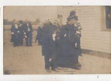 Prinz Eitel Friedrich & Kaiserin 1905 RP Postcard Germany Royalty 040b