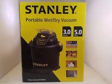 Stanley Portable Wet/Dry Vacuum | 5 Gallon | 3 Peak HP | SL18115P | w/ 10 pc Kit