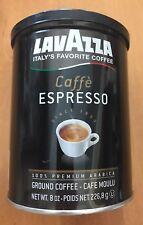 Lavazza Caffe Espresso Medium Roast Ground Coffee 8oz Lot Of 2 BB 2/19 (ST)