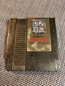 Nintendo NES Legend Of Zelda Gold Original Authentic