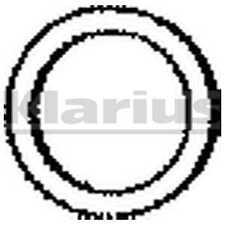 Klarius Exhaust Gasket 410538 - BRAND NEW - GENUINE - 5 YEAR WARRANTY