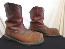 Red Wing Dyna Force Pecos 2249 Steel Toe Cowboy Work Boots Men Size 12 EE