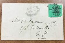 Boyd's City Express #20L8 1852  Cover  PAID J.T.B.