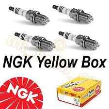 KAWASAKI ZX6R G/J & ZZR600 E-NGK Spark Plugs Yellow Box CR9E x4 6263 Enchufes