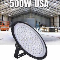 500W UFO LED High Bay Light Shop Lights Garage Lamps Highbay Watt Hall Building