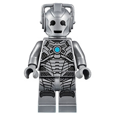 LEGO Doctor Who - Rare - Original - Cyberman Minifig - New
