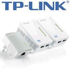 TP-Link tl-wpa4220t kit av500 Powerline universal WiFi range extender Ethernet 2