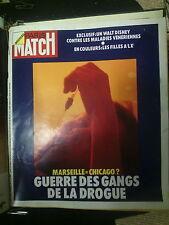 Paris Match n° 1249 14 avr 1973 gangs de marseille mohamed ali lyce révolte