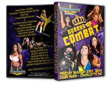 Queens of Combat 1 DVD, Female Womens Wrestling Divas Knockouts WWE TNA WSU CZW