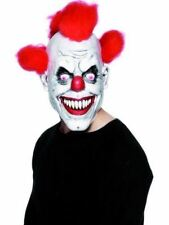 Scary Penny Wise I.T The Clown Circus Halloween Latex Mask
