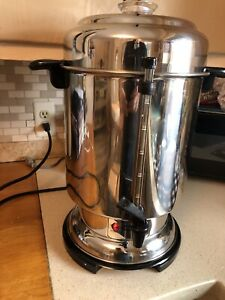 DeLonghi Ultimate Coffee Urn 20-60 Cup Commercial Stainless Steel Coffee Maker
