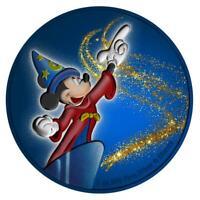 Niue 2019 $2 Mickey Mouse - Fantasia with Diamond Dust 1 Oz Silbermünze