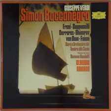 ABBADO Verdi Simon Boccanegra DG 2709 071 (3-LP) W. Germany NM