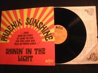 Phoenix Sonshine - Shinin' In The Light - 1971 Vinyl 12'' Lp/VG+/ Christian Rock