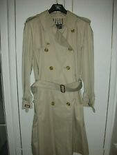 Classic Burberry Men's Long Trench coat BNWT size  42