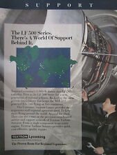 5/1989 PUB TEXTRON LYCOMING LF 500 series ALF 502 BAE 146 AIRLINER ORIGINAL AD