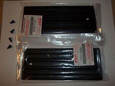 SET OEM 86-95 SUZUKI SAMURAI 82-85 SJ410 R&L EXTERIOR TARGA PLASTIC TRIM & CLIPS